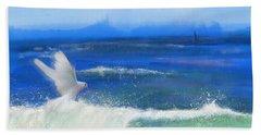 Ocean Dove The Faithful Witness   Beach Towel