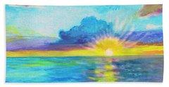 Ocean In The Morning Beach Sheet