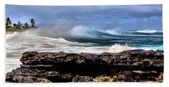 Ocean Spray Beach Towel