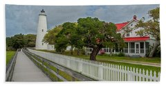 Ocracoke Lighthouse  Beach Towel