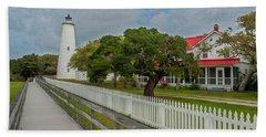 Ocracoke Lighthouse  Beach Towel
