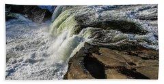 Ohiopyle Falls 1 Beach Towel