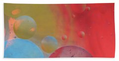 Oil And Color Beach Towel