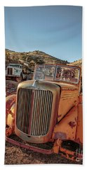 Old Mack Fire Engine Abandoned In Arizona Beach Towel
