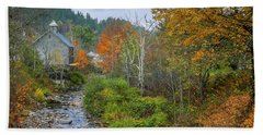 Old Mill New England Beach Towel