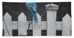 Old Picket Fence Beach Towel