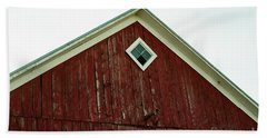Old Red Barn Beach Towel