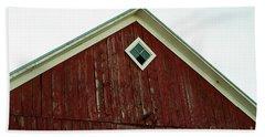 Old Red Barn Beach Sheet