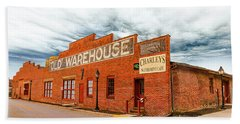 Old Warehouse In Farmville Virginia Beach Towel