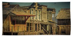 Old Western Town Beach Sheet