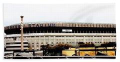 Old Yankee Stadium Beach Sheet