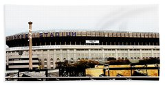 Old Yankee Stadium Beach Towel