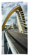 Millennium Bridge In Ourense, Spain Beach Sheet