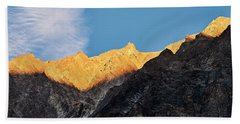 Beach Towel featuring the photograph On The Ridge by Whitney Goodey