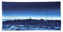 One Tree Hill - Blue 4 Beach Sheet