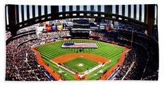 Opening Day Yankee Stadium Beach Towel