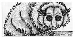 Opossum Beach Towel