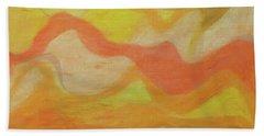 Orange Colors 1 Beach Towel