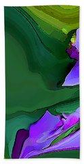 Orchids And Emeralds Beach Sheet