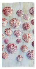 Calico Scallop Assembly   Beach Towel