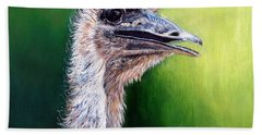 Ostrich Beach Towel