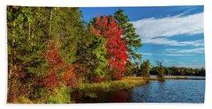 Oswego Lake Pinelands Beach Towel