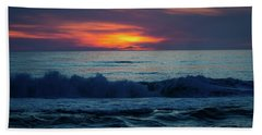 Beach Towel featuring the photograph Outer Banks Sunrise by Lora J Wilson
