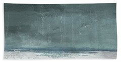 Overcast 2- Art By Linda Woods Beach Towel