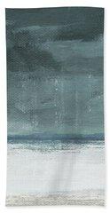 Overcast 2- Art By Linda Woods Beach Towel