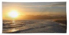 Pacific Sunset , Santa Monica,  California Beach Sheet