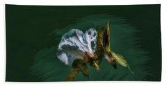 Painted Bindweed #i2 Beach Towel