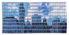 Beach Towel featuring the photograph Painted City by Robert FERD Frank