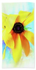 Flopsy - A Charming Wild Black-eyed Susan  Beach Sheet