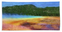 Painting #5 Beach Sheet