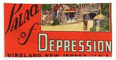 Palace Of Depression Beach Sheet