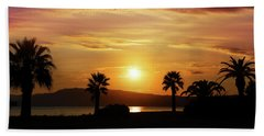Palm Beach In Greece Beach Towel