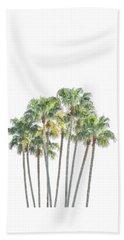 Palm Tree Grove Beach Towel