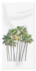 Palm Tree Grove Beach Sheet