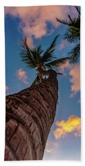 Palm Upward Beach Towel