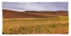 Beach Towel featuring the photograph Palouse Farmland by David Patterson