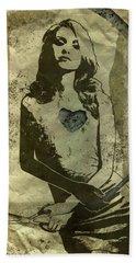 Paper Doll Beach Sheet