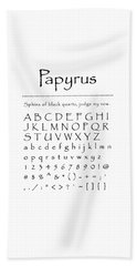 Papyrus - Most Wanted Beach Sheet