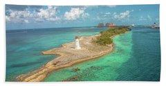 Paradise Island Lighthouse Beach Towel