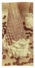 Parchment Parlor Beach Towel