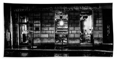 Paris At Night - Rue Bonaparte 2 Beach Sheet