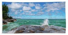 Partly Sunny Beach Towel