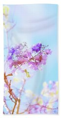 Pastels In The Sky Beach Towel