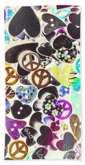 Peace Revival  Beach Towel