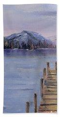 Peaceful Cattails Beach Towel