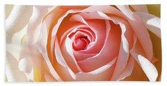 Soft As A Rose Beach Towel